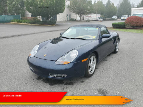 1999 Porsche Boxster for sale at Car Craft Auto Sales Inc in Lynnwood WA