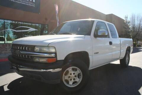 1999 Chevrolet Silverado 1500 for sale at CK Motors in Murrieta CA