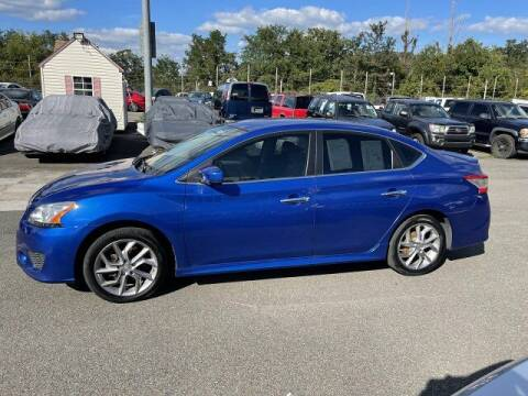 2014 Nissan Sentra for sale at FUELIN FINE AUTO SALES INC in Saylorsburg PA