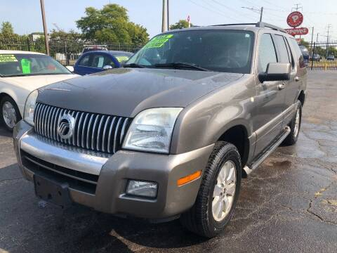 2006 Mercury Mountaineer for sale at RJ AUTO SALES in Detroit MI