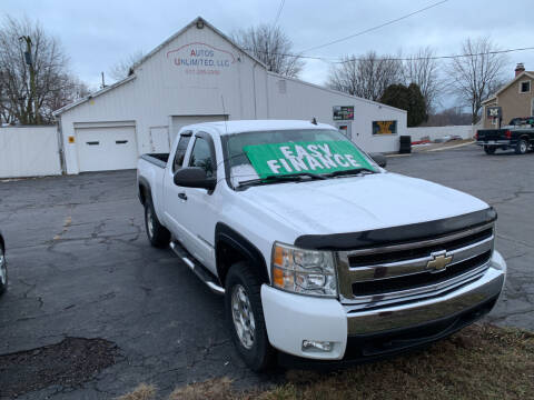 2008 Chevrolet Silverado 1500 for sale at Autos Unlimited, LLC in Adrian MI