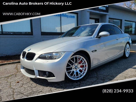 2009 BMW 3 Series for sale at Carolina Auto Brokers of Hickory LLC in Newton NC