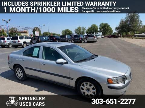 2002 Volvo S60 for sale at Sprinkler Used Cars in Longmont CO