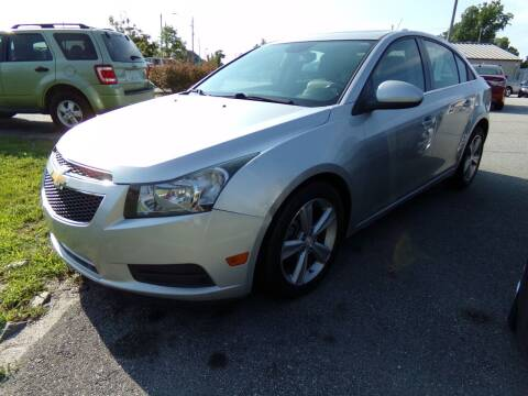 2013 Chevrolet Cruze for sale at Creech Auto Sales in Garner NC