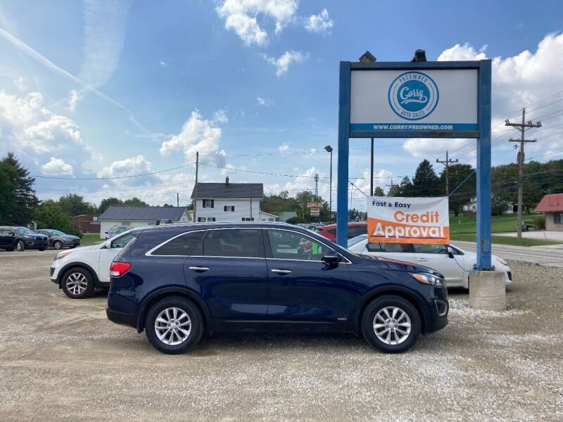 2017 Kia Sorento for sale at Corry Pre Owned Auto Sales in Corry PA