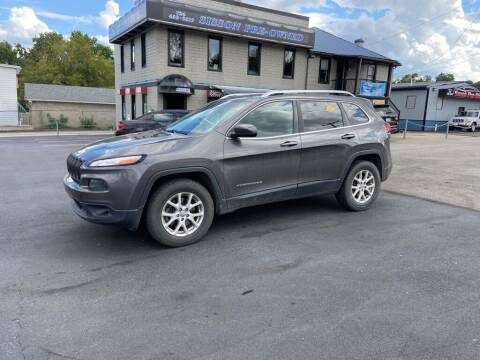 2014 Jeep Cherokee for sale at Sisson Pre-Owned in Uniontown PA