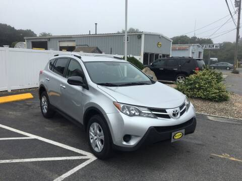 2015 Toyota RAV4 for sale at Platinum Auto Sales in South Yarmouth MA
