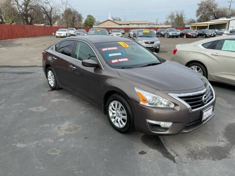 2015 Nissan Altima for sale at Mega Motors Inc. in Stockton CA