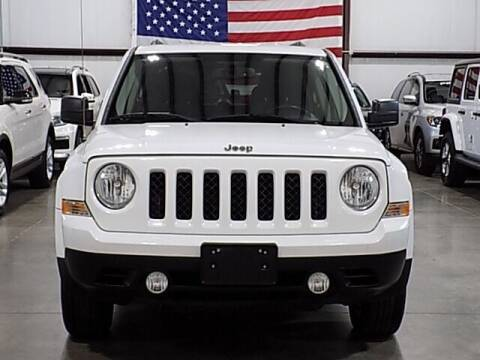 2016 Jeep Patriot for sale at Texas Motor Sport in Houston TX