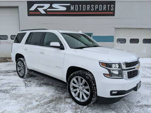 2017 Chevrolet Tahoe for sale at RS Motorsports, Inc. in Canandaigua NY