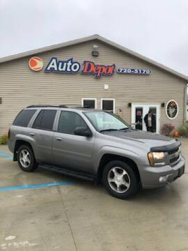 2009 Chevrolet TrailBlazer for sale at The Auto Depot in Mount Morris MI