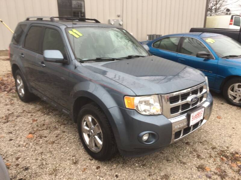 2011 Ford Escape for sale at G LONG'S AUTO EXCHANGE in Brazil IN