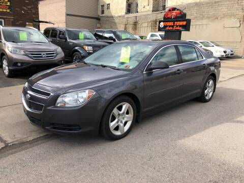 2010 Chevrolet Malibu for sale at STEEL TOWN PRE OWNED AUTO SALES in Weirton WV