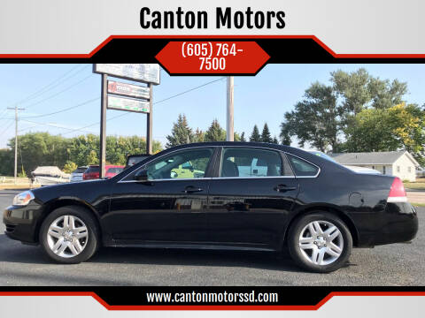 2015 Chevrolet Impala Limited for sale at Canton Motors in Canton SD