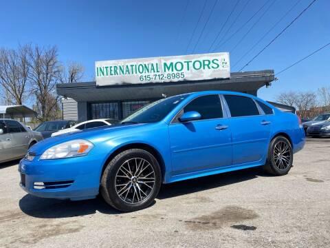 2012 Chevrolet Impala for sale at International Motors Inc. in Nashville TN