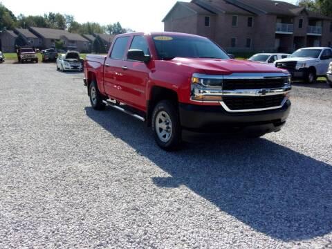 2017 Chevrolet Silverado 1500 for sale at BABCOCK MOTORS INC in Orleans IN