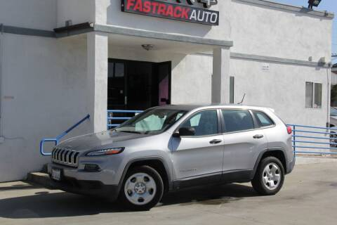 2014 Jeep Cherokee for sale at Fastrack Auto Inc in Rosemead CA