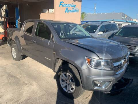 2018 Chevrolet Colorado for sale at Eden Cars Inc in Hollywood FL