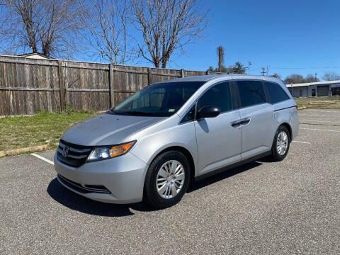 2015 Honda Odyssey for sale at Superior Wholesalers Inc. in Fredericksburg VA