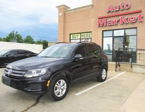 2016 Volkswagen Tiguan for sale at Auto Market in Oklahoma City OK