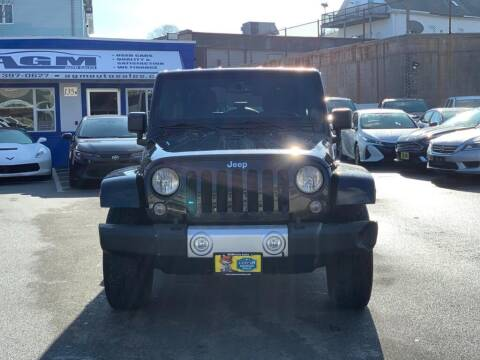 2014 Jeep Wrangler Unlimited for sale at AGM AUTO SALES in Malden MA