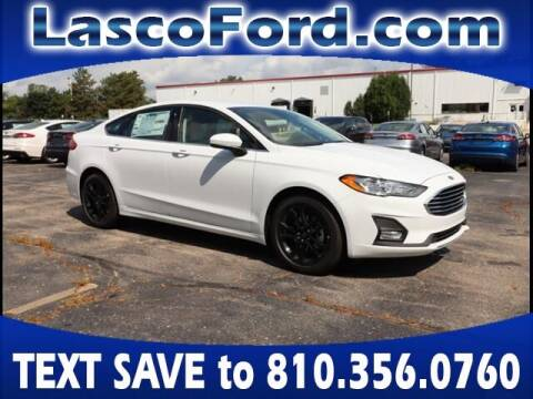 2020 Ford Fusion for sale at LASCO FORD in Fenton MI