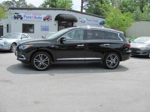 2017 Infiniti QX60 for sale at Pure 1 Auto in New Bern NC