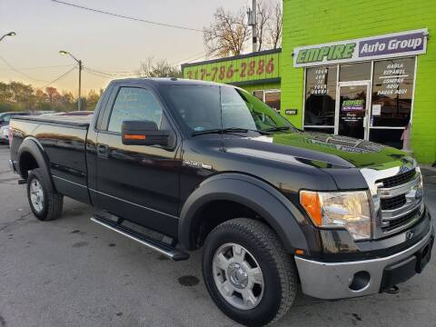 2013 Ford F-150 for sale at Empire Auto Group in Indianapolis IN