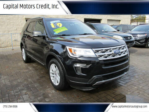 2019 Ford Explorer for sale at Capital Motors Credit, Inc. in Chicago IL