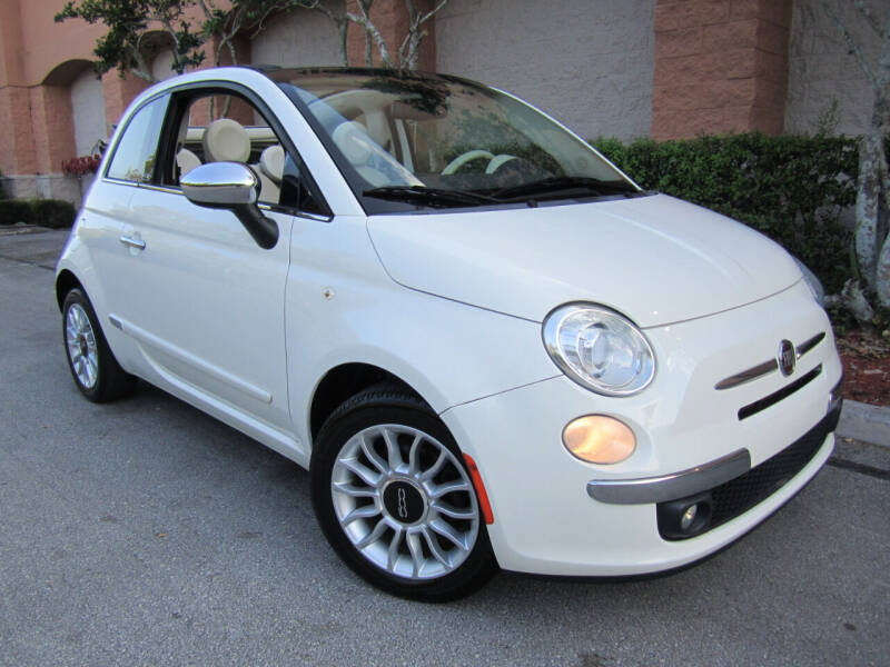 2013 FIAT 500c for sale at FLORIDACARSTOGO in West Palm Beach FL