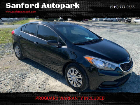 2015 Kia Forte for sale at Sanford Autopark in Sanford NC