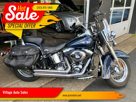 2013 Harley Davidson Heritage Softail Classic for sale at Village Auto Sales in Milford CT
