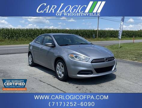 2015 Dodge Dart for sale at Car Logic in Wrightsville PA