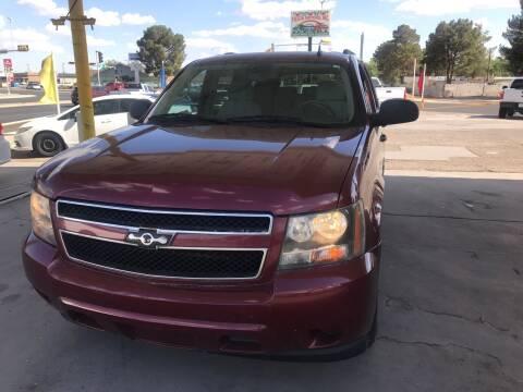 2008 Chevrolet Tahoe for sale at Fiesta Motors Inc in Las Cruces NM