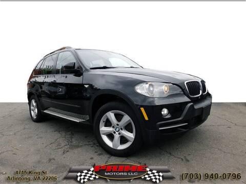 2008 BMW X5 for sale at PRIME MOTORS LLC in Arlington VA