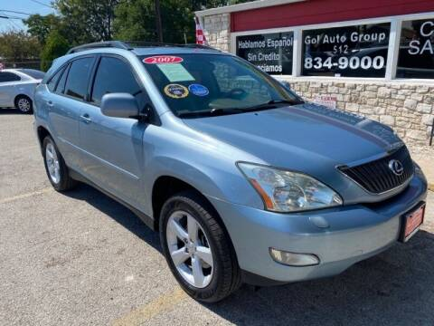 2007 Lexus RX 350 for sale at GOL Auto Group in Austin TX