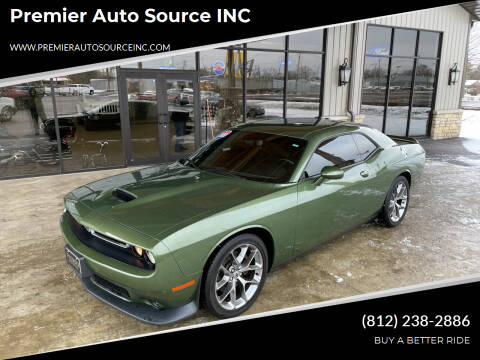 2020 Dodge Challenger for sale at Premier Auto Source INC in Terre Haute IN