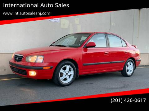 2003 Hyundai Elantra for sale at International Auto Sales in Hasbrouck Heights NJ