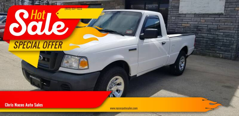 2010 Ford Ranger for sale at Chris Nacos Auto Sales in Derry NH