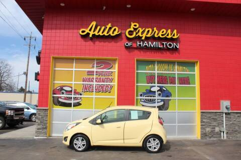 2014 Chevrolet Spark for sale at AUTO EXPRESS OF HAMILTON LLC in Hamilton OH