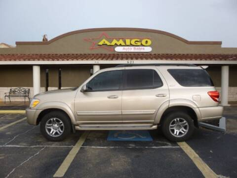 2007 Toyota Sequoia for sale at AMIGO AUTO SALES in Kingsville TX