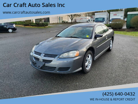 2003 Dodge Stratus for sale at Car Craft Auto Sales Inc in Lynnwood WA