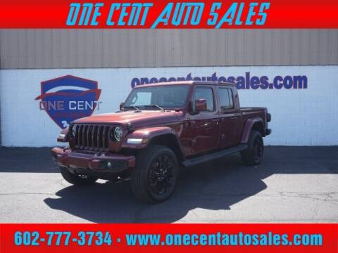 2021 Jeep Gladiator for sale at One Cent Auto Sales in Glendale AZ