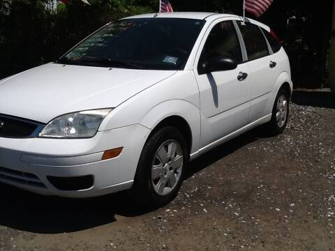 2007 Ford Focus for sale at Lance Motors in Monroe Township NJ