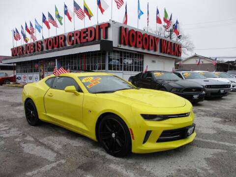 2017 Chevrolet Camaro for sale at Giant Auto Mart 2 in Houston TX