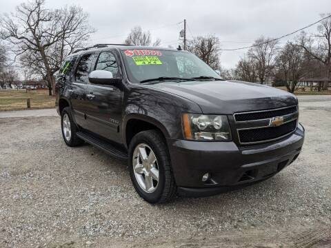 2010 Chevrolet Tahoe for sale at Clarks Auto Sales in Connersville IN