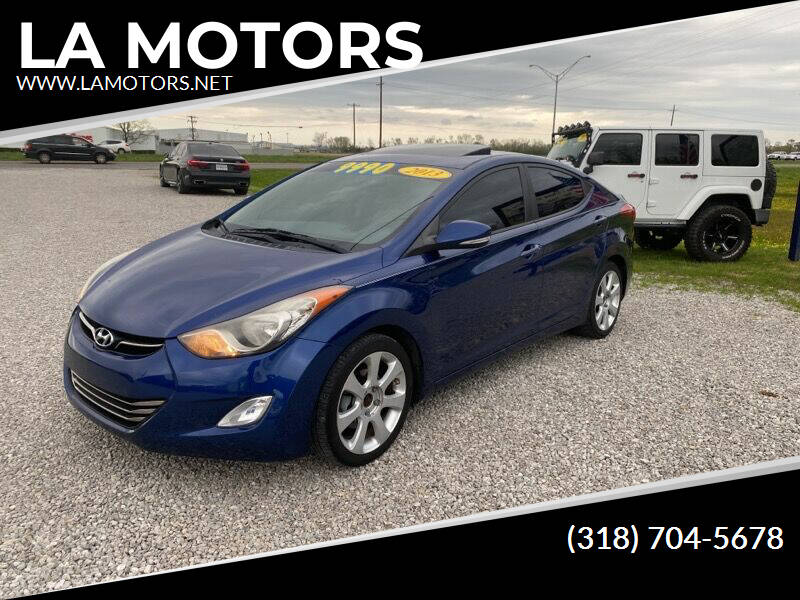 2013 Hyundai Elantra for sale at LA MOTORS in Alexandria LA