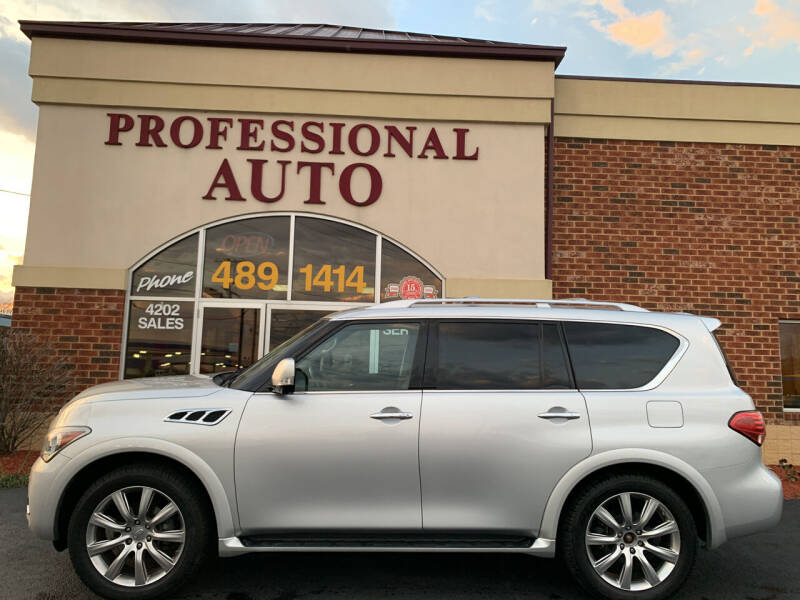2013 Infiniti QX56 for sale at Professional Auto Sales & Service in Fort Wayne IN