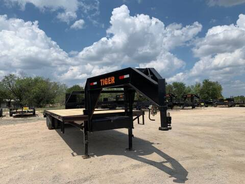2021 TIGER  -102'' X 32' Flatbed T. Duall for sale at LJD Sales in Lampasas TX
