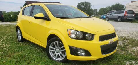 2016 Chevrolet Sonic for sale at Sinclair Auto Inc. in Pendleton IN